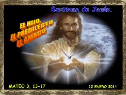 Bautismo de Jesús -B- - CONGREGACIÓN DE LA MISIÓN