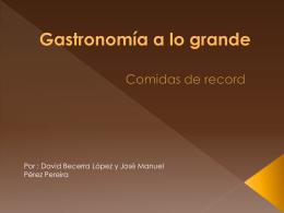 Comidas de Record - Web do IES Rafael Puga Ramón