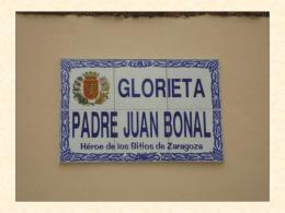 Glorieta Padre Juan Bonal Héroe de los Sitios
