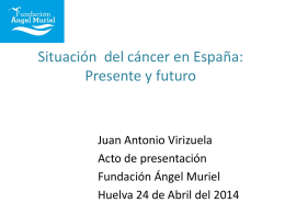 Diapositiva 1 - Fundación Ángel Muriel