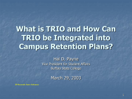 What is TRIO and How Can TRIO