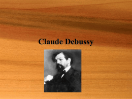 Claude Debussy - Kettering City School District