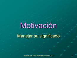 Motivación e Hipócrates
