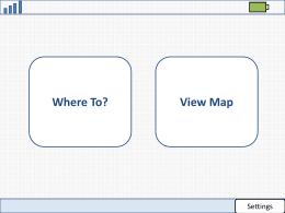 Navigation System Framework