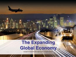 The Expanding World Economy