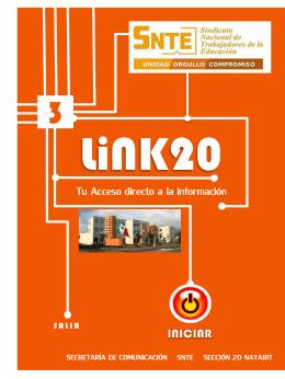 LiNK20 Tu Acceso directo a la información