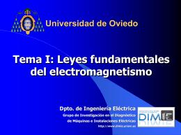 Curso de Máquinas Eléctricas 5º Mecánicos Máquinas