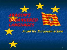 Català i aragonès a una mateixa llei de llengües