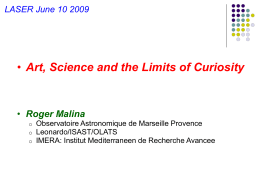 Art, Science and the Limits of Curiosity