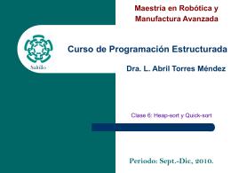 Robótica y Manufactura Avanzada