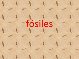fósiles - Cienciasafa