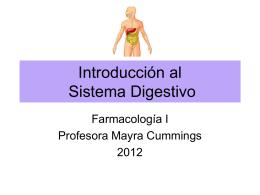 Introducción al Sistema Digestivo