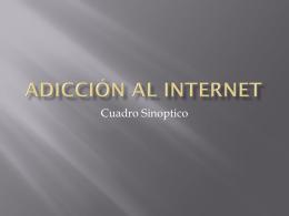 Adicción al Internet - Seminario de Investigacion