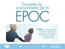 La EPOC en España - medicosypacientes.com