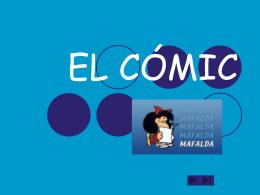 EL CÓMIC - Centro de Profesores y de Recursos de