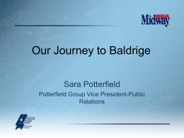 MidwayUSA Baldrige Journey by Sara Potterfield,