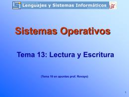 Tema 10 - Teoría SSOO