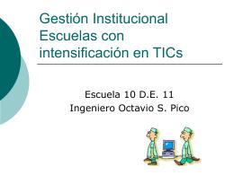 Gestión Institucional Gestión Integral