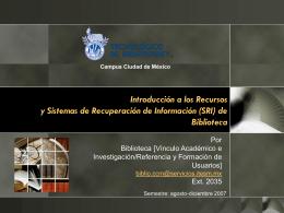 Presentación Tesis MIK - Biblioteca Digital del