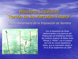 "Biblioteca Legislativa ""Ramón de las Mercedes"
