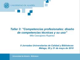 Comisión de Estatutos - Universidad de Málaga