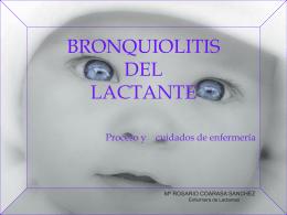 BRONQUIOLITIS DEL LACTANTE - Página de Inicio -