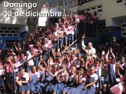 Inauguración y entrega Escuela Puerto Príncipe