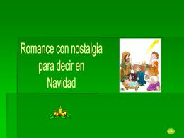 Romance de Navidad - Capilla De Oración Católica
