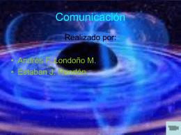 Comunicación vía satelital
