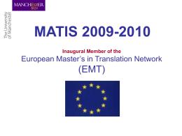 MATIS 2008-2009