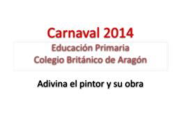Carnaval 2014 Educación Primaria Colegio Británico