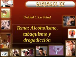 Tabaquismo, drogadicción y alcoholismo