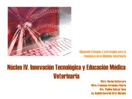 Núcleo 2. Innovación Tecnológica y Educación