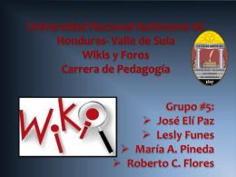 wikis - Infopeda Unah-VS