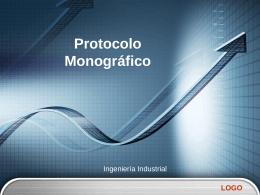 Protocolo Monográfico - Ing. José Manuel Poveda