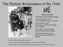 Harlem Renaissance Dancing