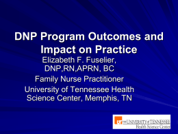 DNP Program Outcomes and Impact on Practice