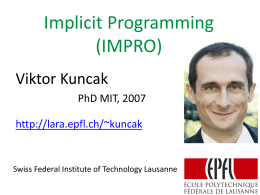 Implicit Programming