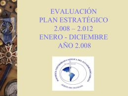 EVALUACIÓN PLAN OPERATIVO AGOSTO 2006 – MAYO 2007