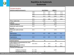 Diapositiva 1 - Secretaría de Economía