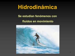 Hidrodinámica - Física para alumnos de Secundaria