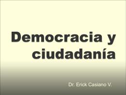 Ciudadanos y ciudadanía