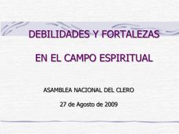 ASAMBLEA PRESBITERAL Diócesis de Orizaba, Ver.