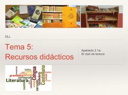 Tema 2: La educación lingüistica