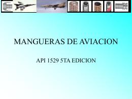 Mangueras para la aviación