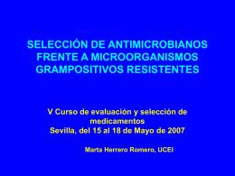 TRATAMIENTO DE LA INFECCIÓN POR Staphylococcus