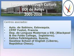 Diapositiva 1 - Escuela Oficial de Idiomas de