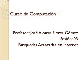 Curso de Computación II