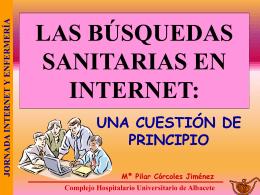 LAS BÚSQUEDAS EN INTERNET:
