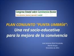 Plan Conjunto de Compensación Educativa Punta